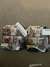 Bakugan Gundalian Invaders 2010 Evil Twin Pack Lot Helix Dragonoid & Coredem New