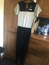 womans colour block jumpsuit from topshop, new with tags, size 8