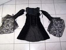 Minikleid Kleid Samt Spitze Lip Service Sweet Sorrow Rarität Gothic Braut WGT