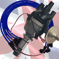 AccuSpark 25D Negative EARTH Distributor & Blue HT Leads For Ford X-Flow
