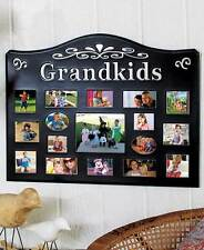 17 Opening Grandkids Collage Photo Picture Frame Living Room Kitchen Home Decor