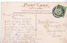Genealogy Postcard - Family History - Newman - Hampstead - London N.W.   U4058