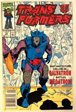 Marvel Comics The Transformers #78 1991 Galvatron Battles Megatron!