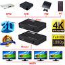 Full HD HDMI Splitter 1X4 4 Port Hub Repeater Amplifier v1.4 3D 1080p 1 In 4 Out