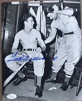 TED WILLIAMS Signed/Autograph 8x10 PHOTO JSA LOA/COA Red Sox/HOF