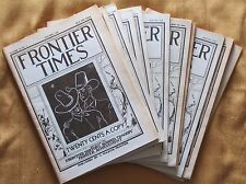 Frontier Times - Lot of 12 Issues - Entire year of 1938!