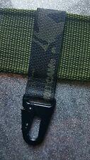 Cintura NERA Crye MTP Moschettone Chiave portiere con HK Stile Metallo Moschettone.