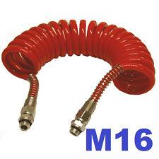 Luftwendel Luftschlauch Spiralschlauch  M16 X 4,5 m LKW TOP PREIS !!!
