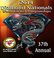 2014 Diamond Nationals World Karate Championships Tournament DVD