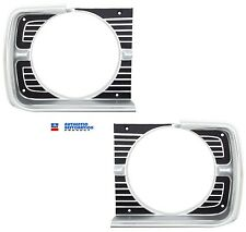 1968 68 Dodge Dart Chrome Headlight Bezels Set Head Lamp Bezel New Mopar