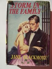 STORM IN THE FAMILY by Jane Blackmore - Hard cover with dust jacket - 1ST EDIT.