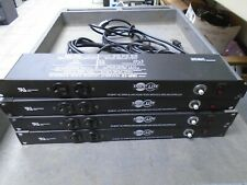 Lot of 4 TRIPP-LITE IBR12 Transient Voltage Surge Suppressors