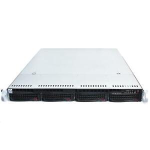 "Supermicro SYS-5017R-WRF X9SRW-F LGA2011 Xeon E5-16xx 4-Bay 3.5"" 1U Server CTO"