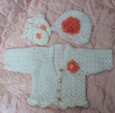 Crochet pattern Baby/Reborn Priscilla CRO125 Frandor Formats