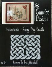 Borderlands-Rainy Day Castle Camelot Designs Cross Stitch Pattern #9**