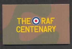 GREAT BRITAIN , 2018 , THE R A F CENTENARY , prestige booklet in special folder