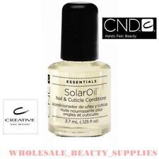 CND Creative SOLAR ACEITE Uña & Cutícula Acondicionador 3.7 ml Botella!!!