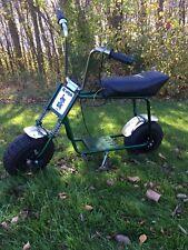 "Lil Indian minibike Frame Forks W/ 6"" Mags Ruttman Rupp Bonanza Vintage"