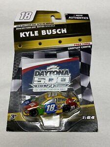 2018 Kyle Busch Daytona 500 Special Edition 1/64 NASCAR Authentics Diecast