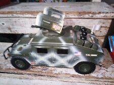 2001 RARE GI Joe US Army Motorized Attack Humvee (tested)