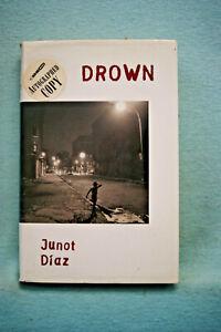 Drown by Junot Diaz - Hardbound - 1st - Autographed
