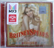 BRITNEY SPEARS - CIRCUS - CD IMPORT SPECIAL RUSSIAN VERSION RUSSIA RUSSIE RUSSE