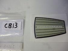 Coachman VIP or laser resin badge for caravan dent cover ups CB13