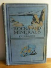 Rare 1903 STORIES OF ROCKS AND MINERALS by Harold Fairbanks ILLUSTRATIONS
