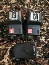 Neewer 16 Channel Wireless Remote Flash Speedlite Trigger w/2.5mm PC 2 Receiver