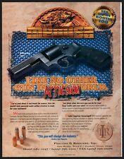 1996 MEDUSA Model 57 Revolver Phillips & Rodgers PRINT AD Conroe TX Advertising