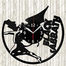 Black Sabbath Vinyl Record Wall Clock Decor Handmade 2676