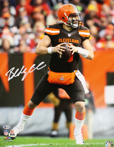 Baker Mayfield Autographed/Signed Cleveland Browns 16x20 Photo BAS 26426 PF