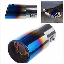 Universal Car Round Stainless Steel Rear Exhaust Muffler Pipe Tail Muffler Tip