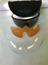 Wiley X Pt-1 with 3 lens, As NewFrame eliminates tunnel vision with 90-degree