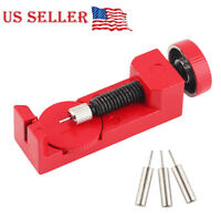 Watch Repair tool Watch Band Link Pin Remover metal Link Remover SET #2068 Red