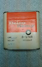 CADILLAC NOS 1968 to 1976 Horn relay unopened box #1115867