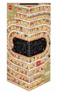 Heye Puzzles 4000 Piece Triangular Jigsaw Historia Comica Opus 1 HY29341