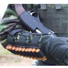 12  20 Gauge Shotgun Arm Wrist Mounted 10 Shell Cartridge Ammo Holder Carrier UK