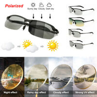 Polarized Sunglasses Day Night Vision Driving Glasses Photochromic SunGlasses