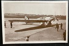Mint France Real Picture Postcard Union Treat Record Airplane Doret & Le Brix