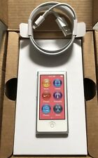 Apple Ipod Nano 7. Generation 7G Weiss Silber White Silver 16GB NEU NEW