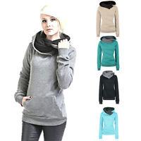 Women Long Sleeve Hoodie Sweatshirt Fashion Sweater Hooded Cotton Coat Pullover