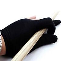 Pool Snooker Billiard Glove Shooter Spandex 3-Finger Glove Left Handed 2PCS #NE8