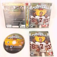 Playstation 3 2K Sports All-Pro Football 2K8 with Manual