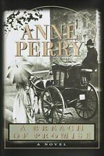 William Monk Novel: A Breach of Promise by Anne Perry (1998, Hardcover)