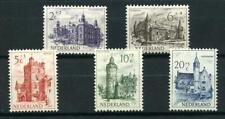 Nederland 568-572 zomerzegels 1951 Kastelen - POSTFRIS cat waarde € 35