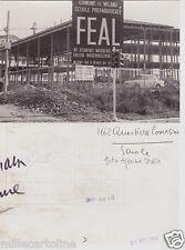 # MILANO: 1962- QUARTIERE COMASINA -  SCUOLE IN COSTRUZIONE- foto agenzia