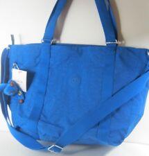 9e0680308 KIPLING Feminino Adara Medium Tote Bolsa De Ombro Para Viagem tiracolo Azul  Francês Novo
