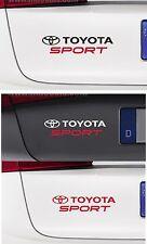 For TOYOTA - TOYOTA SPORT - CAR DECAL STICKER - SUPRA GT86 CELICA  - 195 x 45mm