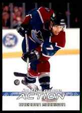2003-04 In The Game Action Brendan Morrison #519